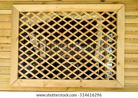 wooden lattice arbor - Lattice Fence Stock Images, Royalty-Free Images & Vectors