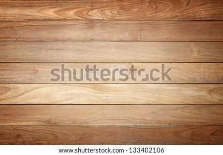 Wooden Palisade background - stock photo