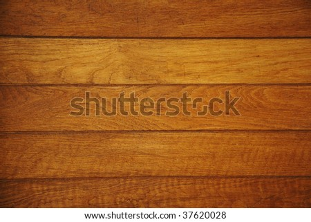 wooden panel background - stock photo