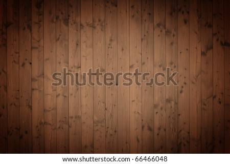 wooden panel, perfect for background - stock photo