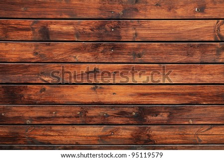 Wooden panel used as background - stock photo