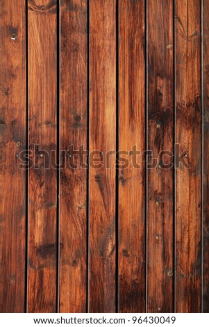 Wooden panel used as background