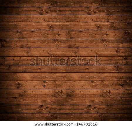 wooden panels wall - stock photo
