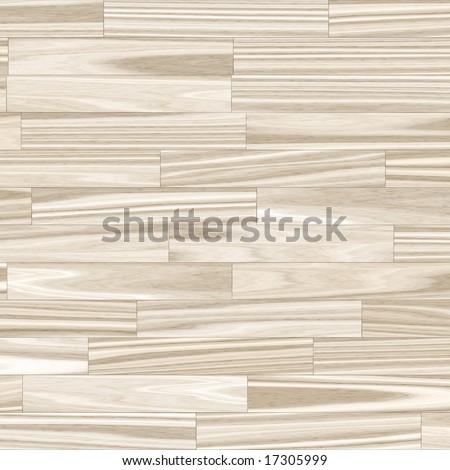 wooden parquet flooring - close up (seamless tile) - stock photo