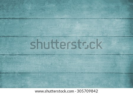 Wooden plank background texture in pale blue hues. - stock photo