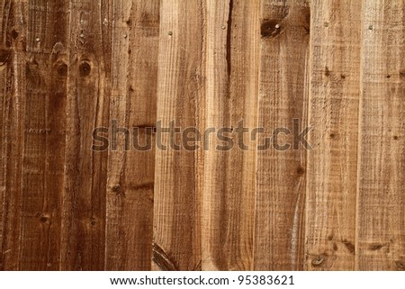 Wooden planks in close up - background