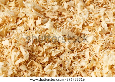 Wooden sawdust texture - stock photo