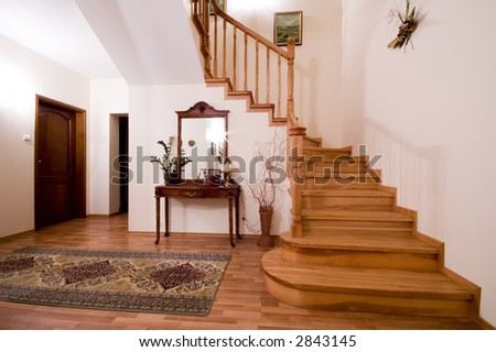 Lovely Wooden Stairs