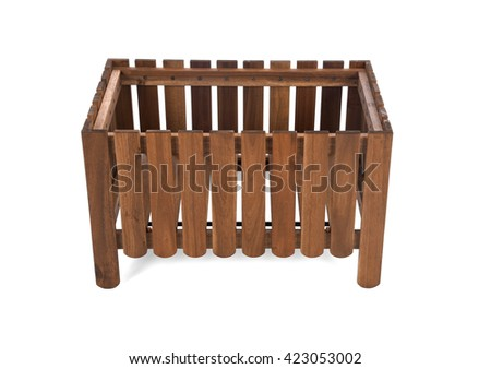 wooden stand for flowers