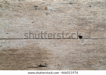 Wooden table with sunlight background