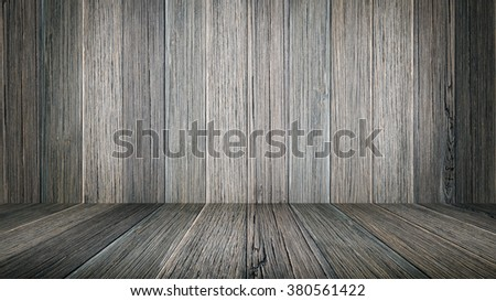 Wooden terrace wall texture background. style dark.