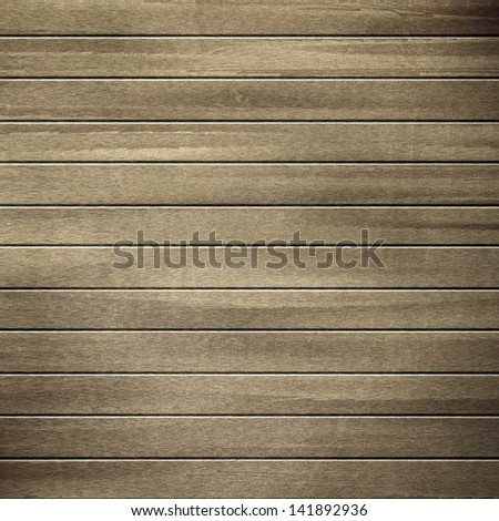 Wooden texture background with lines. - stock photo