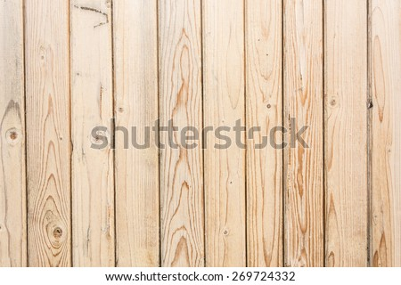 wooden texture, empty wood background with vertical boards - stock photo