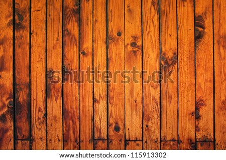 Wooden texture, old wooden boards. Image  can be used as a background for your design. - stock photo