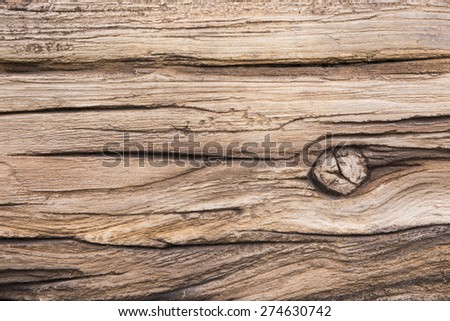 wooden texture with knot