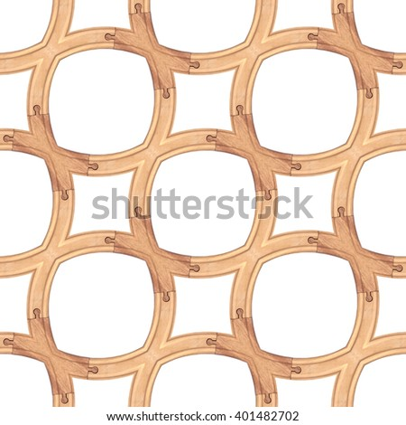 Wooden Toy Train Track Seamless - stock photo