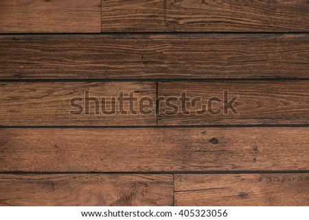 Wooden wall background, Thailand - stock photo