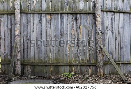 wooden wall, fence, texture