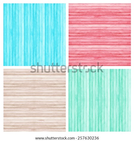 Wooden wall texture background,  collection pantone color. - stock photo
