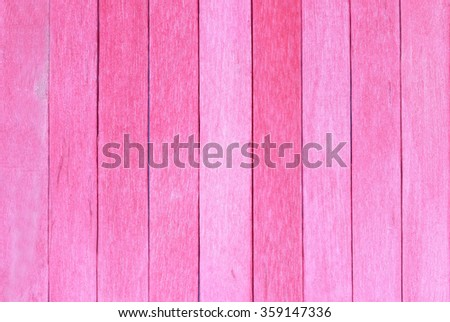 Wooden wall texture background, red color - stock photo