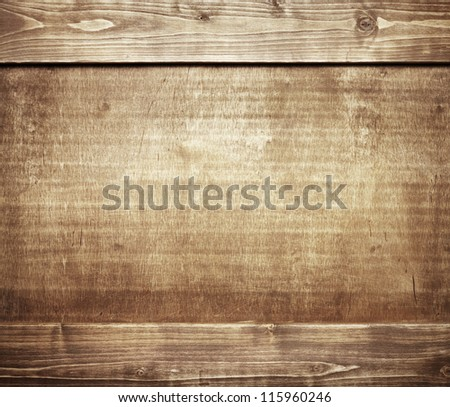Wooden wall texture, wood background - stock photo