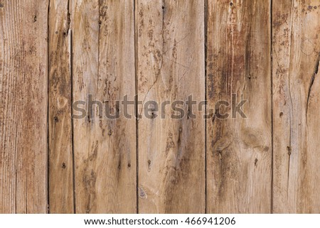 Wooden wall. Vintage rustic background for wallpaper, web, print