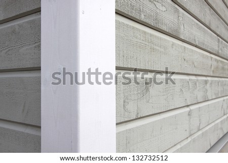 Wooden walls - stock photo