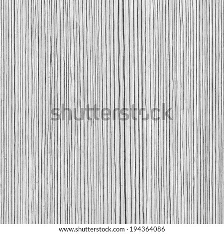 Wooden white texture of rough surface - laminated material. Close-up. - stock photo