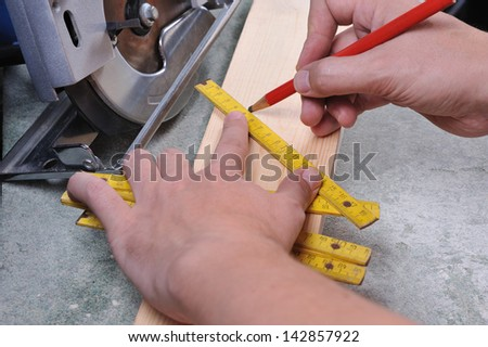 woodwork - stock photo