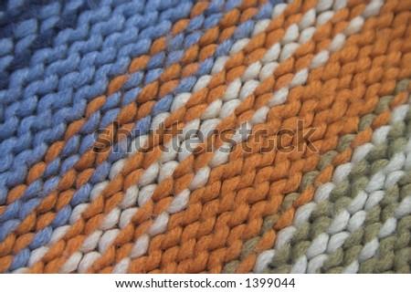 wool - stock photo