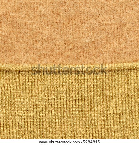 Wool cloth - stock photo