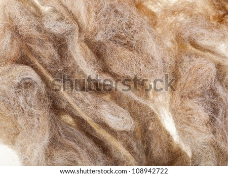 Wool  fleece texture background - stock photo