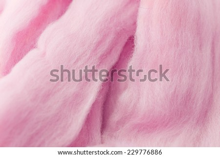 Wool for felting - stock photo