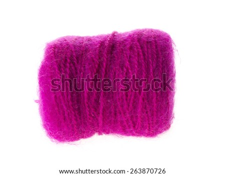 wool isolated