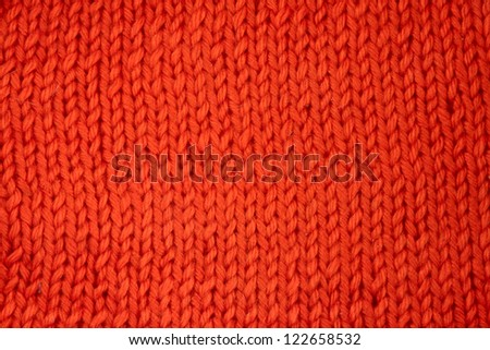 Wool knitted textured background close up - stock photo