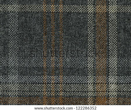 wool material texture in gray green colors - stock photo