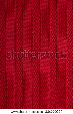 wool red background