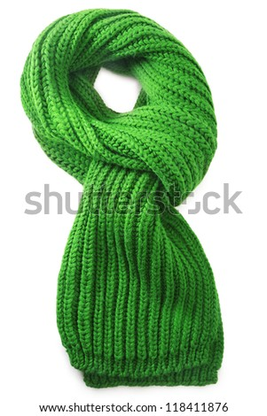 Wool scarf - stock photo
