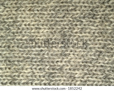 Wool surface two, close-up - stock photo