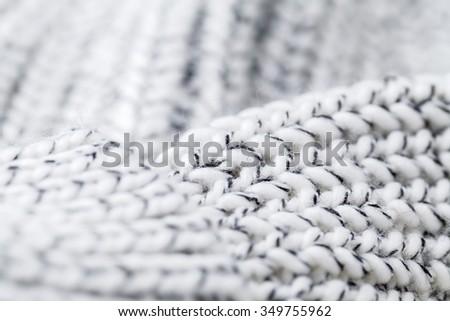 wool sweater texture - stock photo
