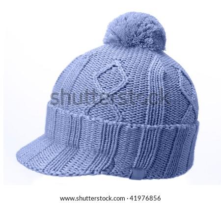 woolen hat - stock photo