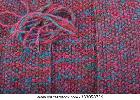 Woolen knitted mohair colored background