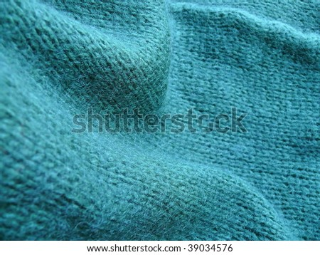 Woolen knitting closeup. More of this motif & more fabrics in my port. - stock photo