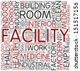 Word cloud - facility - stock