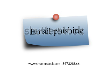 word on blue notepaper with white background. - stock photo