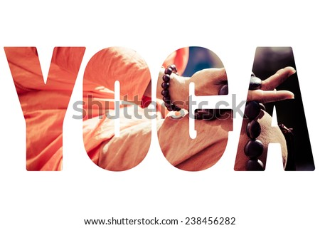 Word Yoga - stock photo