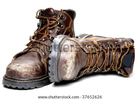 Work Boots - stock photo