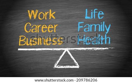 Work Life Balance - stock photo