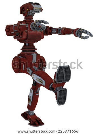 Work Robot - stock photo