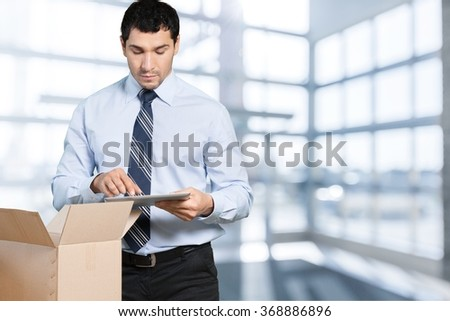 Worker. - stock photo